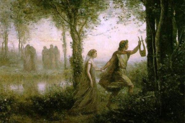 Легендата за орфей и евридика