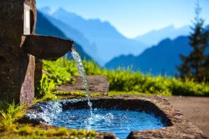 минерална вода в Родопите