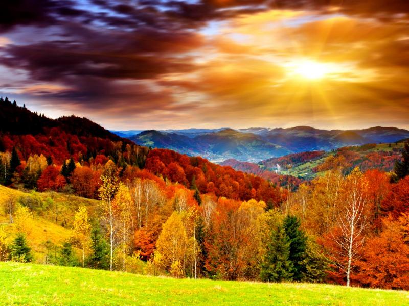 Есен е, нежна, красива, романтична!